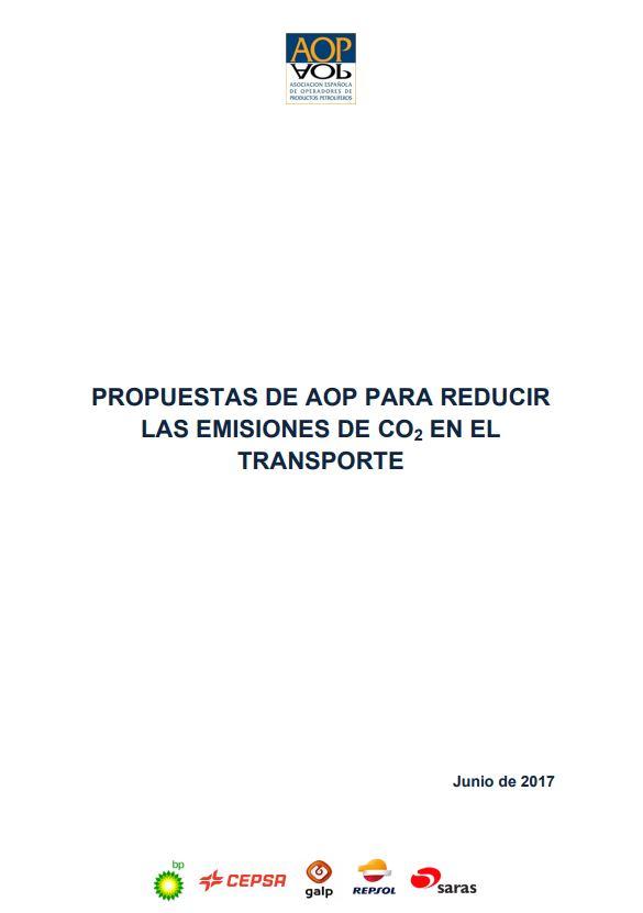 Propuestas de AOP para reducir las emisiones de CO2 en el transporte