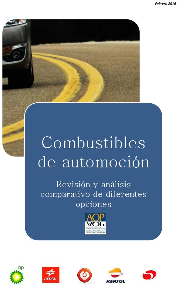 Estudio comparación combustibles de automoción, febrero 2016