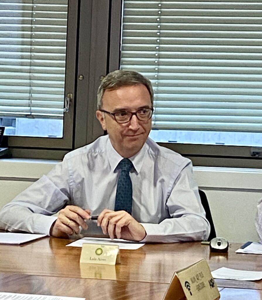Luis Aires, presidente de AOP