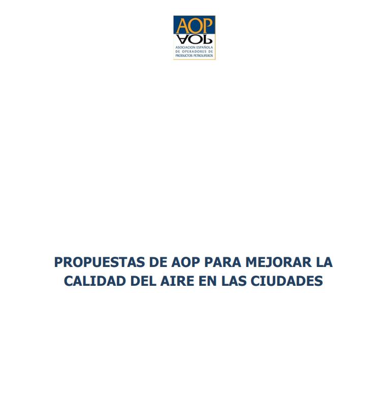 Propuestas de AOP para mejorar la calidad del aire en las ciudades