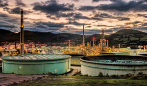 Refinería de Petronor en el País Vasco